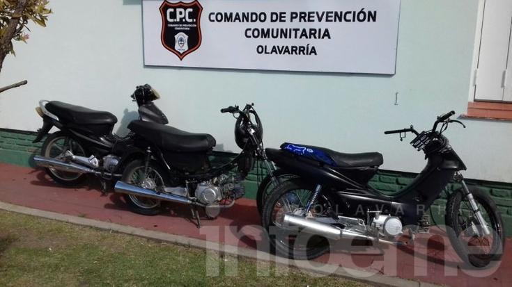 Seis motos secuestradas en operativos