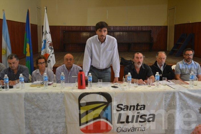 El Gabinete Itinerante del Intendente Galli se reunió con los vecinos de Santa Luisa y Durañona