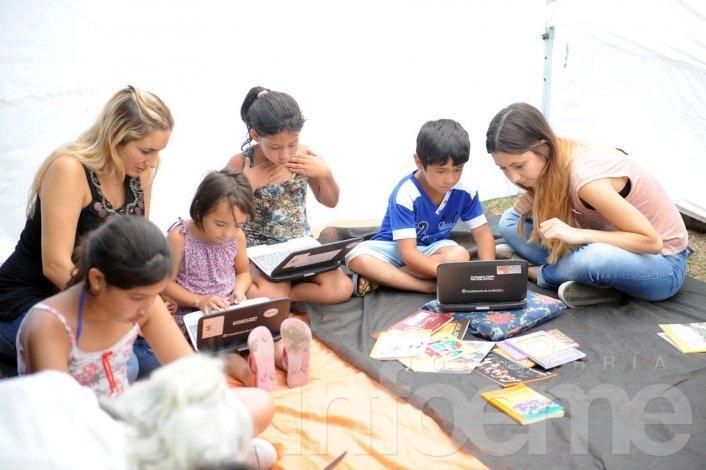La lectura también es un plan para los más chicos en las Escuelas Abiertas en Verano