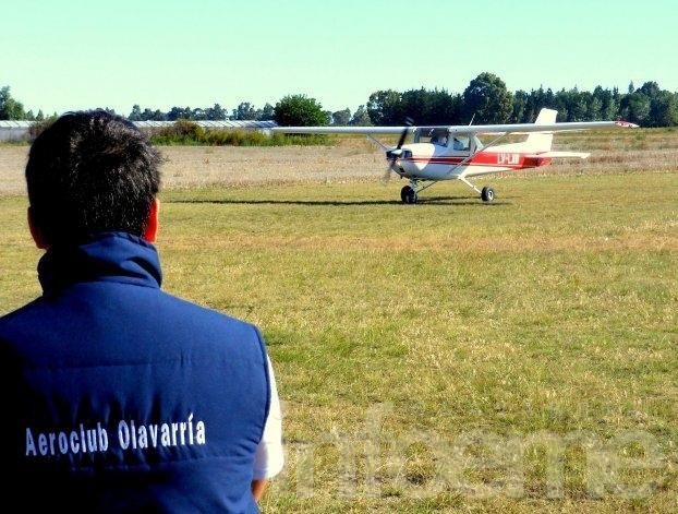 Oscar Garaiz, nuevo presidente del Aeroclub