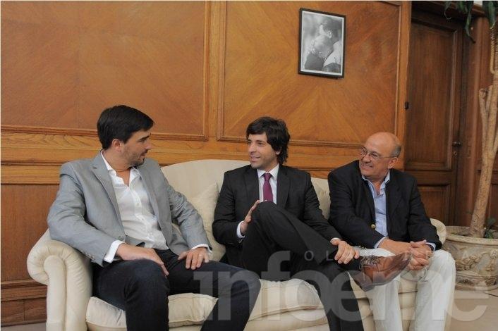 Galli habló de obras para Olavarría con el Gobierno Nacional