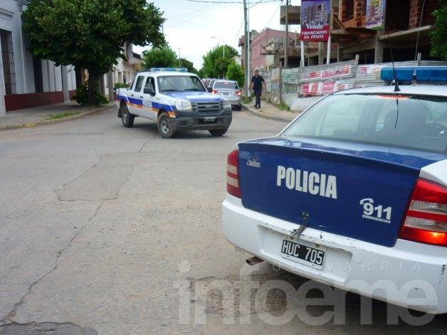 Allanamiento positivo y captura de un joven en el Barrio Coronel Dorrego