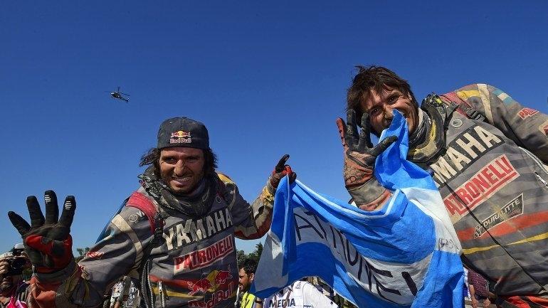 Dakar: Marcos Patronelli ganó la edición 2016 en cuatriciclos; Alejandro quedó segundo