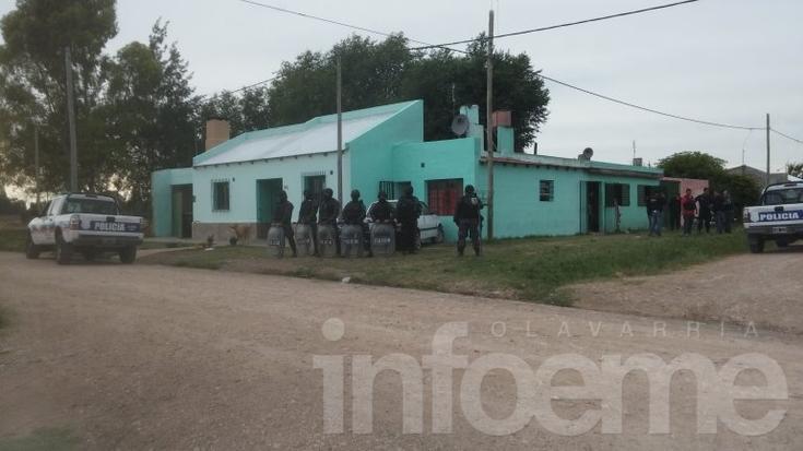 Secuestran 3 kg de cocaina, dos armas y dinero en Olavarría: hay detenidos