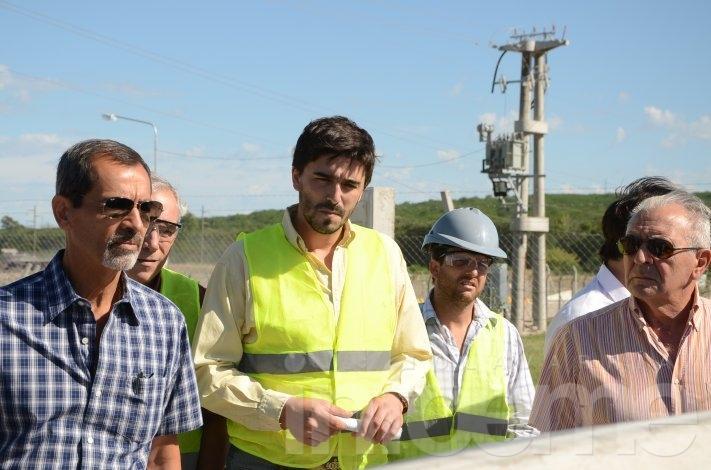 Ezequiel Galli recorrió el circuito minero con funcionarios del Ministerio de Producción