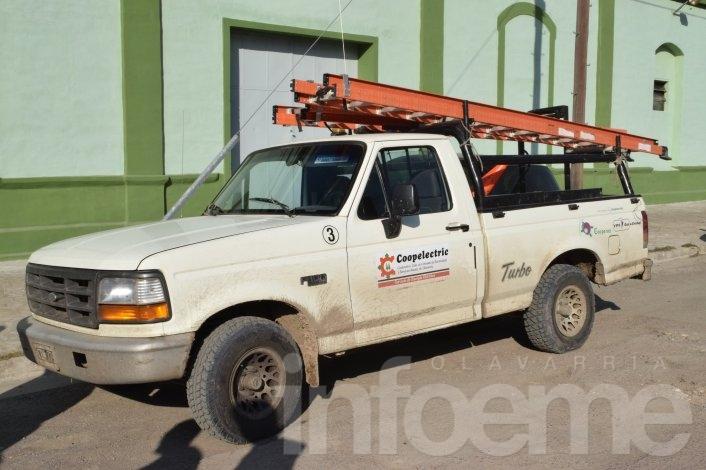 Interrupción del servicio eléctrico en San Vicente