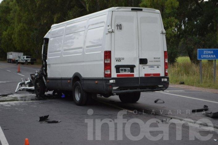 Ruta 51: murió un hombre en un choque por alcance