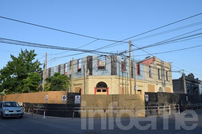 Terminan de derrumbar el Edificio Cereseto