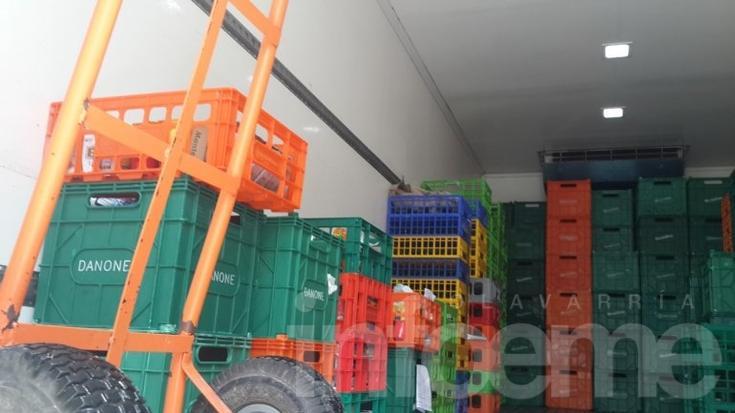 Decomisaron 124 litros de leche y otros productos lácteos por cortes en la cadena de frío