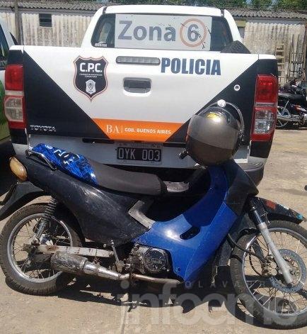 Secuestran diez motocicletas en operativos en la vía pública