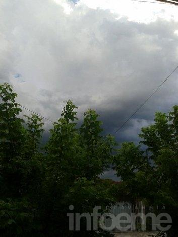 Alerta por tormentas fuertes, intensos vientos y granizo