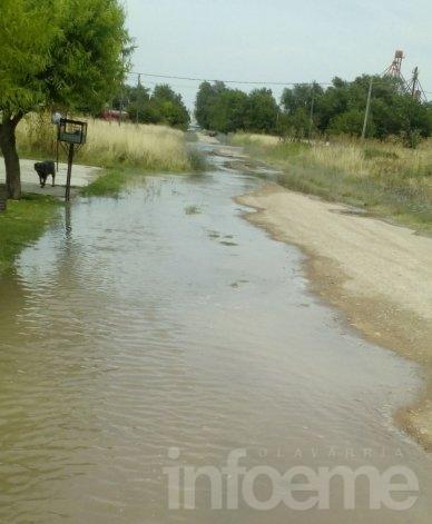 Pérdida de agua causa problemas en el barrio Isaura