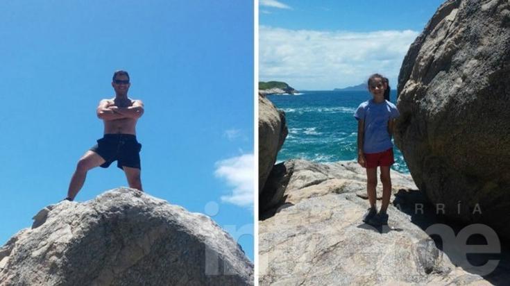 Búsqueda desesperada de turistas bonaerenses en Brasil