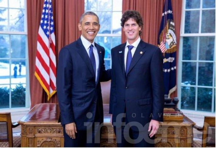 Martín Lousteau se reunió con Barack Obama en la Casa Blanca