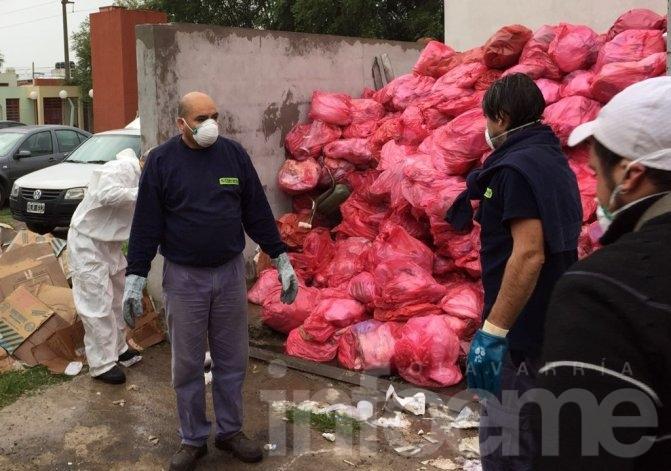 Se llegó a un acuerdo temporal para el retiro de Residuos Patogénicos