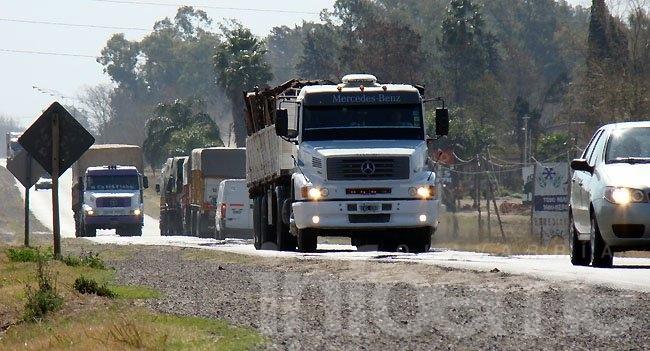 Restricción a la circulación de camiones por el recambio turístico