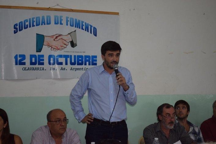 """El """"Gabinete Itinerante"""" llegó al Barrio 12 de Octubre"""