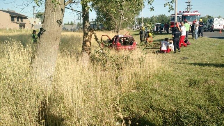 Es crítico el estado del joven accidentado en Autopista Fortabat