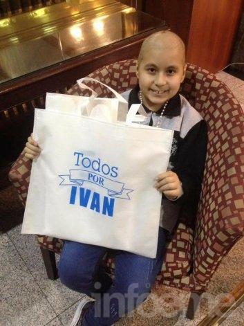 Murió Iván el nene que luchaba contra un carcinoma