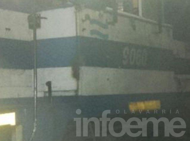 El tren al que se arrojó el paciente de Hinojo fue interceptado en Cacharí