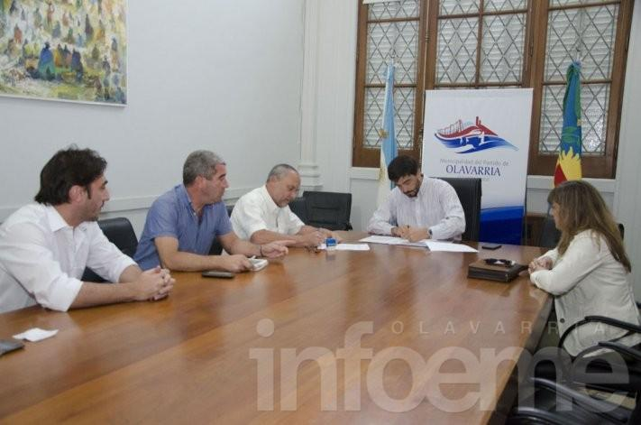 El municipio firmó convenios con la Facultad de Ingeniería