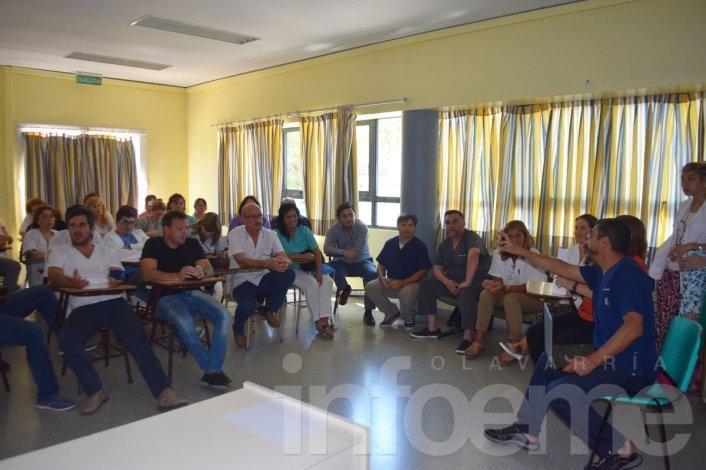 Se reunirán profesionales de la salud con referentes municipales del área