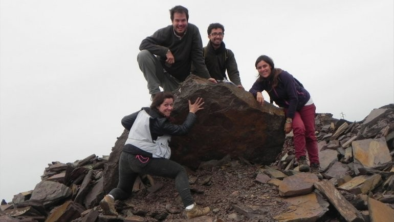 Geólogos registraron el hallazgo más antiguo de Sudamérica en Olavarría