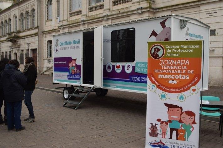 El quirófano veterinario móvil estará en distintos barrios