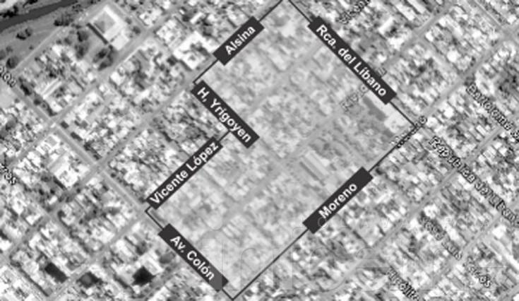 Corte programado en cinco barrios de la ciudad
