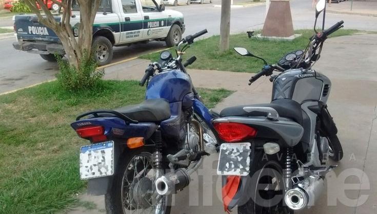Secuestran dos motos durante operativos en Hinojo