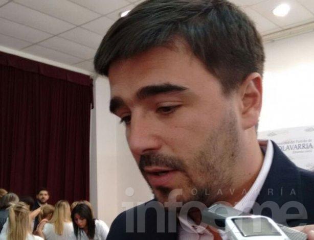 """Ezequiel Galli: """"Vienen cosas muy buenas para la ciudad"""""""