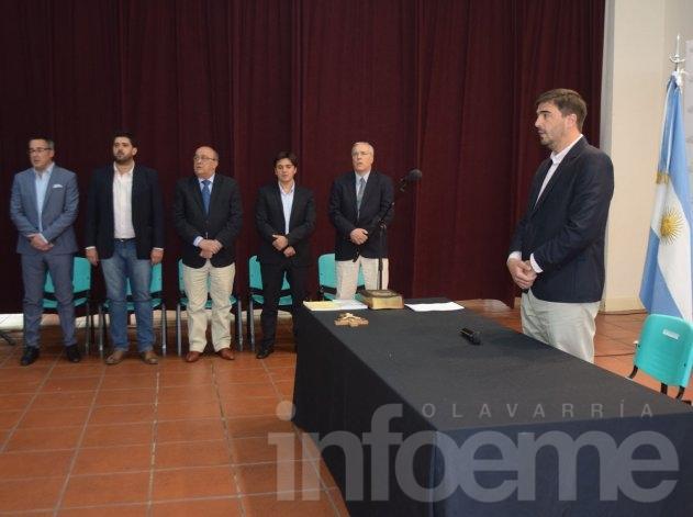 Juraron los nuevos secretarios del Ejecutivo Municipal