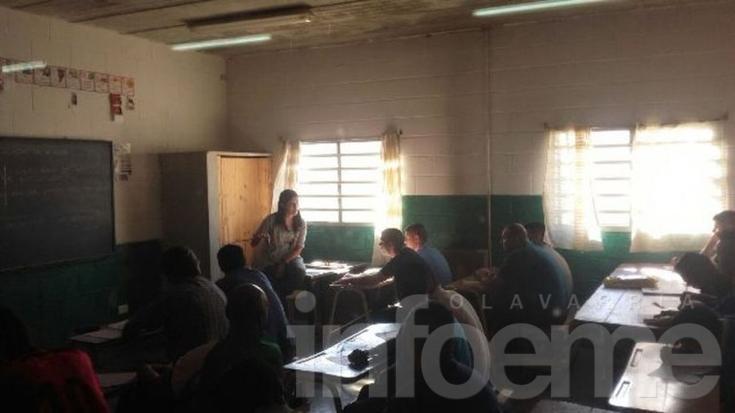 Cursos de verano en la Escuela Primaria de la Unidad N°38