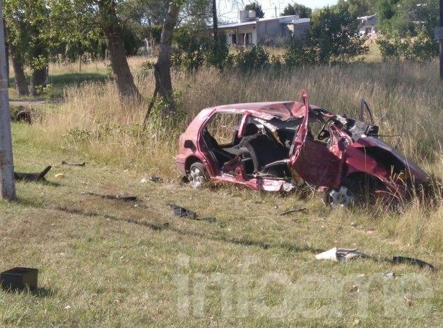 Sigue grave el joven accidentado en la autopista Fortabat