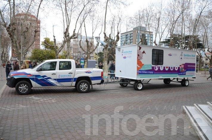 El quirófano móvil continuará la recorrida por distintos barrios