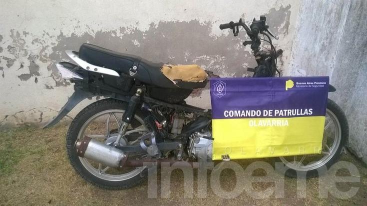 Recuperan dos motos robadas
