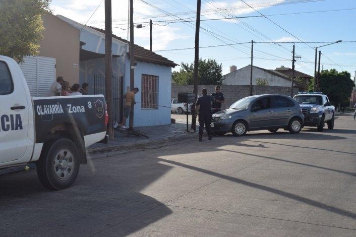 Accidente: ciclista fue trasladado al Hospital con lesiones de consideración
