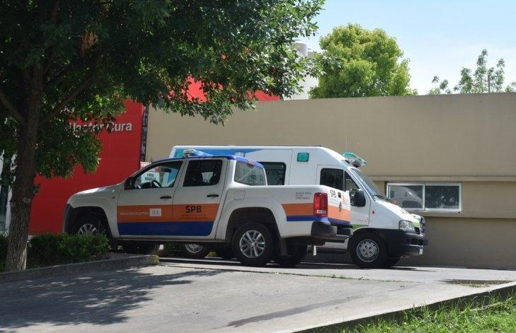 Motociclista con heridas de consideración tras un choque