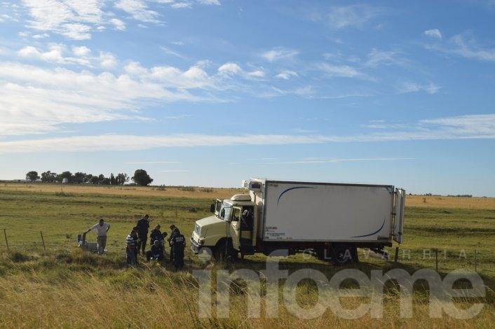 Asesinan de un disparo a camionero en la Ruta 51