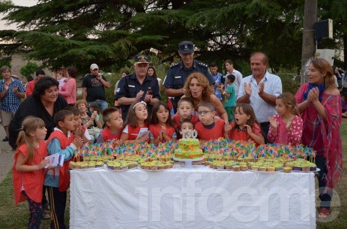Hinojo celebró su aniversario número130