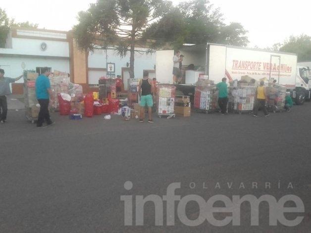 Secuestraron electrodomésticos y mercadería por 2 millones de pesos