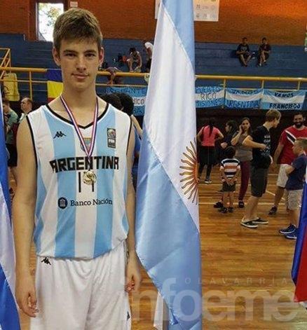 Basquet: Ignacio Aman será parte de la Selección Argentina U16