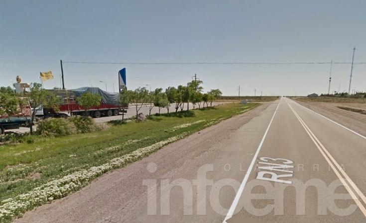 Familia regresaba desde Olavarría y volcó en la Ruta 3