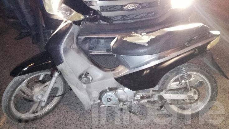 Encuentran otra moto con pedido de secuestro