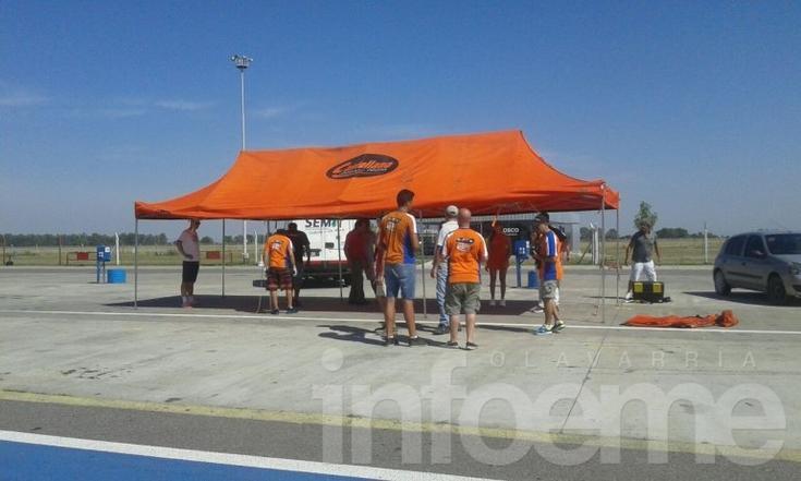 """Castellano realiza el sponsor day en el """"Hermanos Emiliozzi"""""""
