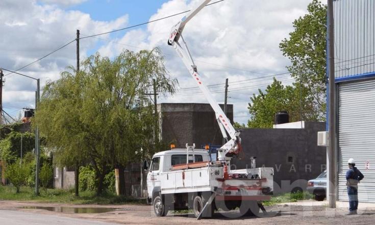 Una falla ocasionó un corte de luz en importante sector de la ciudad