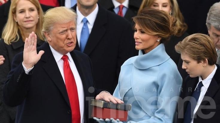 Donald Trump asumió como presidente de los Estados Unidos