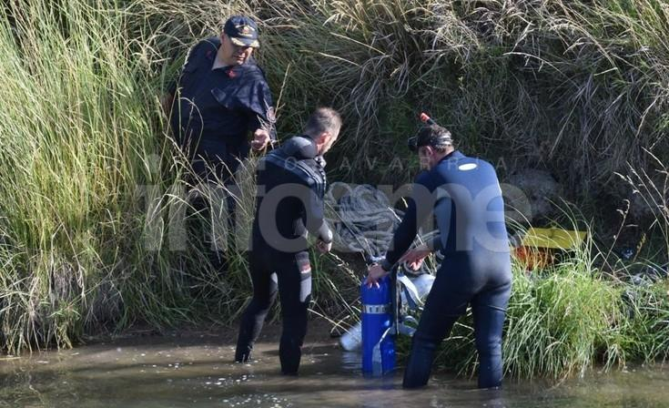 Imágenes de la tragedia en el arroyo