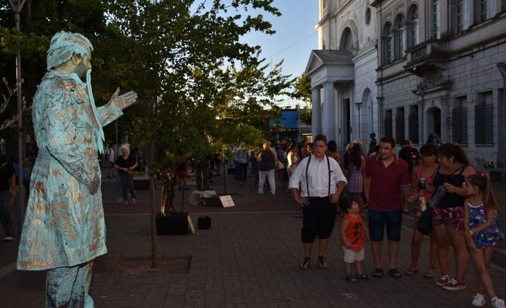 Llega un nuevo Encuentro Internacional de Estatuas Vivientes