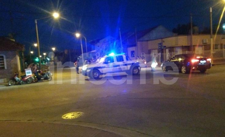 Choque entre dos motomandados: un hombre resultó herido